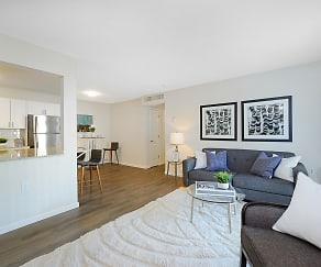 Living Room, Addison at Princeton Meadows