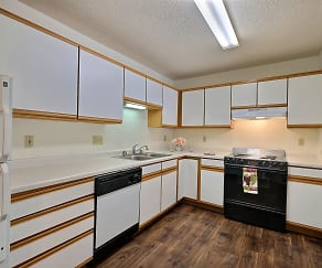 Kitchen, Park Place Apartments