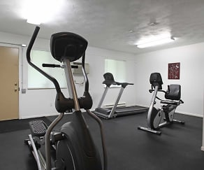 Fitness Weight Room, Parkside Apartments