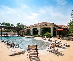 Pool, Pecan Springs Apartments