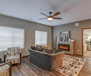 Living Room, HiPark - FrontNine