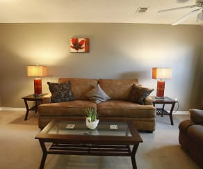 Living Room, Addison Place Apartments