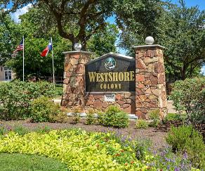 Community Signage, Westshore Colony