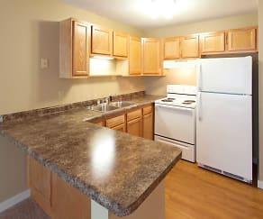 Kitchen, LaBlanche Apartments