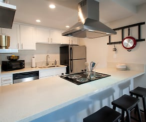 Kitchen, Woodcrest Apartment Homes