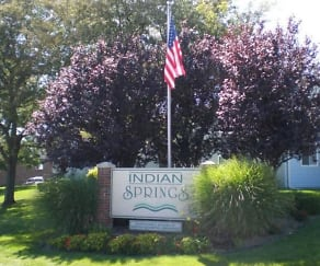 Community Signage, Indian Springs Apartments and Townhomes