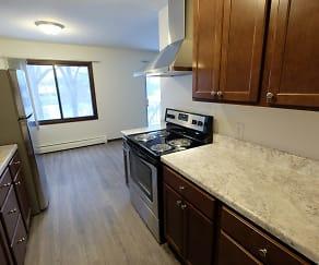Kitchen, Lakehill Apartment