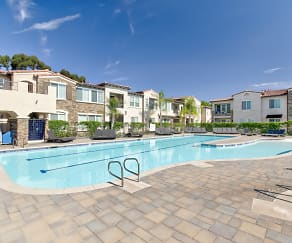 Pool, Avia La Jolla Senior Living