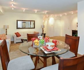 Dining Room, Lansdowne Towers Apartments