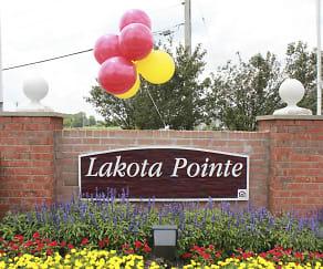 Community Signage, Lakota Pointe Townhomes