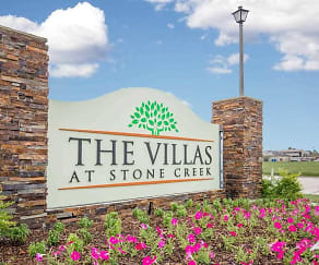 Community Signage, The Villas at Stone Creek