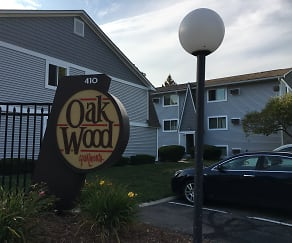 Community Signage, Oakwood Apartments