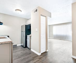 Kitchen/Dining Room<BR>Upgraded, Windwood Apartment Homes