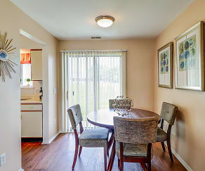 Dining Room, Clinton Place Apartments