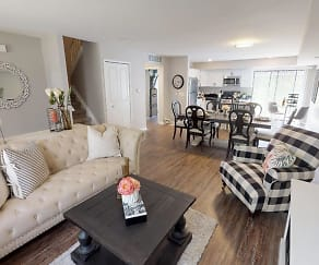 Living Room, 83 West Townhomes