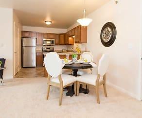 Dining Room, Lafayette Square Senior Apartments