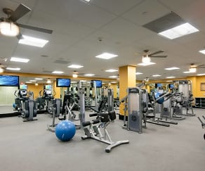 Fitness Weight Room, The Westerly on Lincoln