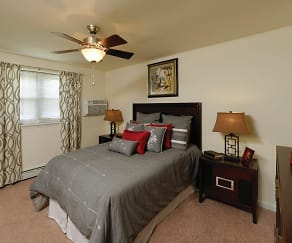 Bedroom, Hill Brook Place Apartments