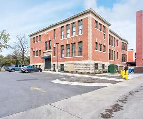 Building, Garfield School Senior Residence