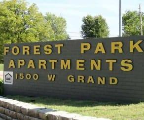 Community Signage, Forest Park Apartments