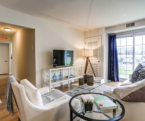 Living Room, Dogwood Gardens Apartment Homes