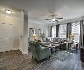 Living Room, The Villages at McCullers Walk Apartments