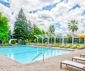 Pool, The Vineyard Luxury Apartments