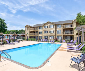 Pool, Woodway Apartments