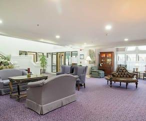 Main Lobby, Rosehaven Manor Senior Living
