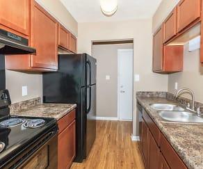 Kitchen, Parc Bordeaux Apartment Homes