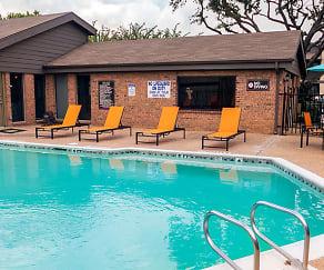 Pool, Chelsea Creek Apartments