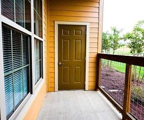 Patio / Deck, Warrick Trail Apartments