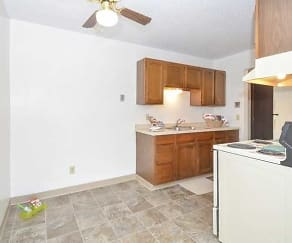 Kitchen, Upper Town Apartments