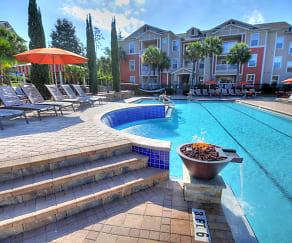 Pool, West 10 Apartments - Per Bed Lease