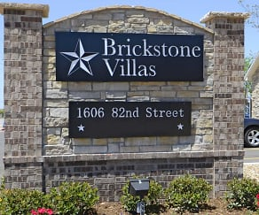 Community Signage, Brickstone Villas Apartments