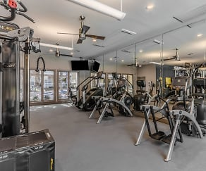 Fitness Weight Room, Republic House at Frisco Bridges