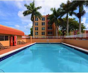 Pool, International Club Apartments