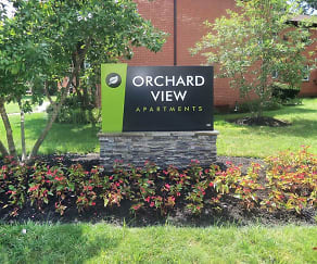 Community Signage, Orchard View Apartments