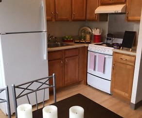 Efficiency Apartment Kitchen, Tabco Towers