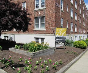 Landscaping, Tara Apartments