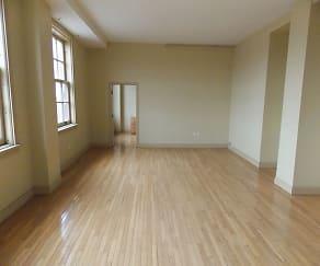 Living Room, Walker Weeks Apartments