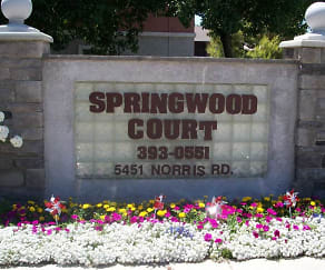Community Signage, Springwood Court Apartments