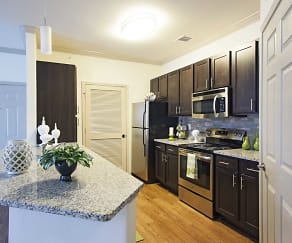 Kitchen, Jamestown Place Apartments