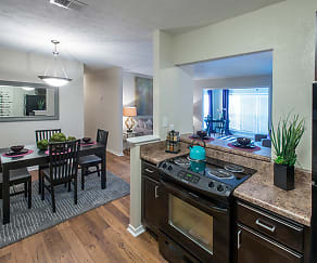 Kitchen, The Park at Peachtree Corners