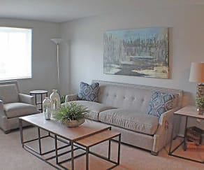 Living Room, Valley York Apartments
