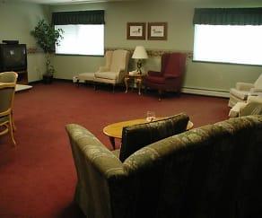 Living Room, Abbott Parkside Senior Aparments