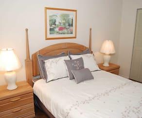 Bedroom, Riverview Condominiums