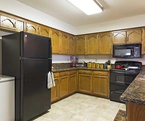 Kitchen, Chapel Oaks Townhomes