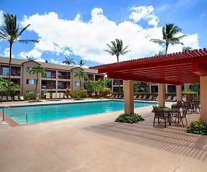 Pool, Sunset Terrace Apartments