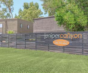 Community Signage, Juniper Canyon Apartments